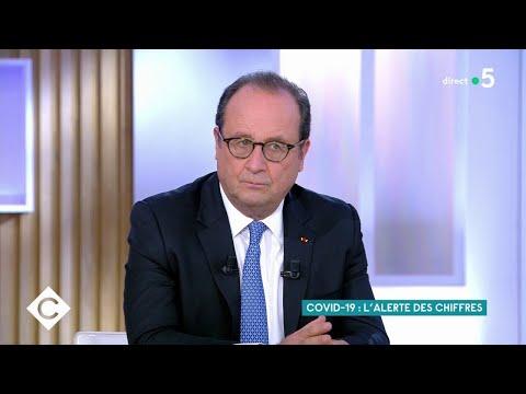 Francois Hollande : invité spécial - C à Vous - 28/10/2020