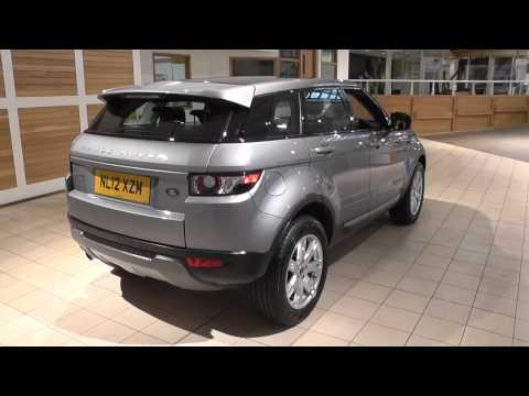 Land Rover Range Rover Evoque 5 Door Diesel 2012MY 2.2 TD4 Pure 150HP Manual 4WD U8890