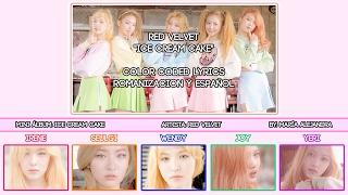 Red Velvet �� Ice Cream Cake COLOR CODED ROMSUBESPAÑOL LYRICS