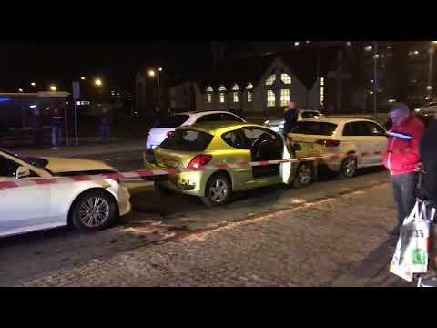 Wideo: Kolizja czterech pojazdów na Przylesiu w Lubinie