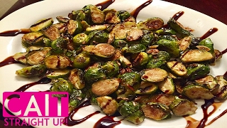 Easy roasted brussels sprouts recipe in the oven. This simple and delicious balsamic brussels sprouts recipe cooks easily on a...