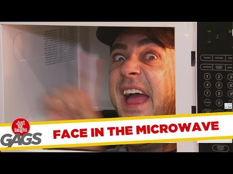 Troll Hài Hước 2015 - Face In The Microwave Prank