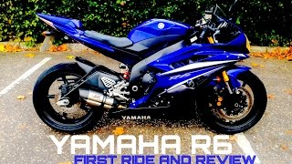 7. Yamaha R6 First Ride And Review