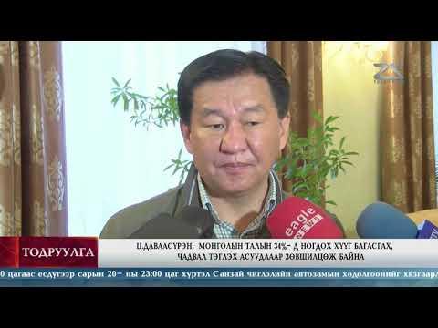 Ц.Даваасүрэн: Монголын талын 34%-д ногдох хүүг багасгах, чадвал тэглэх асуудлаар зөвшилцөж байна