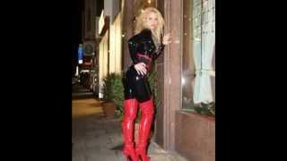 Leathers, Boots, High Heels And Latex