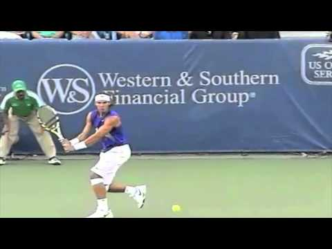 USTA Player Development: Footwork on the Two-Handed Backhand Slow Motion Video Analysis