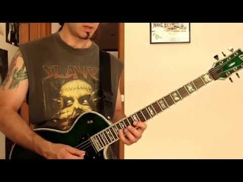 Mixed E minor lick