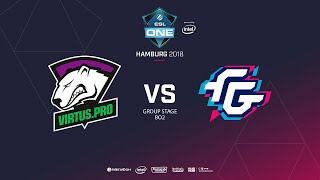 Virtus.pro vs  Forward Gaming, ESL  One Hamburg, bo2, game 2 [Lex & 4ce