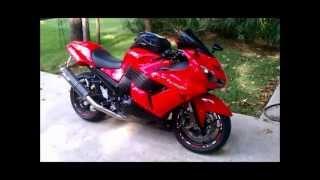 2. 2006 Passion Red Kawasaki ZX14