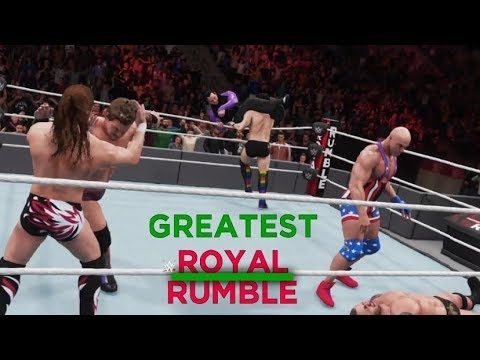 WWE 2K18 GREATEST ROYAL RUMBLE - PREDICTION HIGHLIGHTS