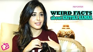 Kritika Kamra Reveals Five Weird Facts About Her - Interview | Telly Reporter