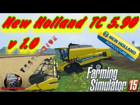 New Holland TC 5.90 ATI Wheels v1.0