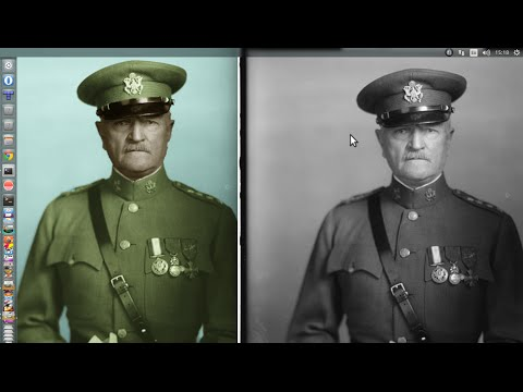 How to restore old photos in photoshop