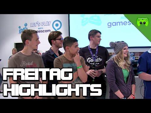 HIGHLIGHTS vom LP meets gamescom Auftritt am Freitag Mittag «» Gamescom 2014