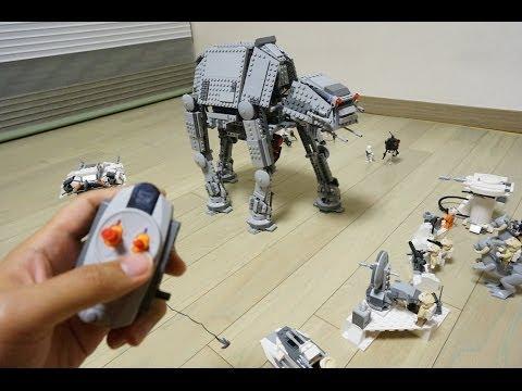 """Конструктор LEGO Star Wars 75054 """"Вездеходный бронированный транспорт AT-AT"""""""