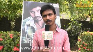Director Venkatesan at Nalanum Nandhiniyum Movie Press Show