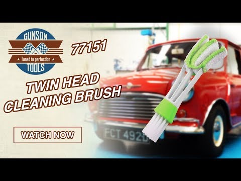 77151 | The Gunson Twin Head Cleaning Brush