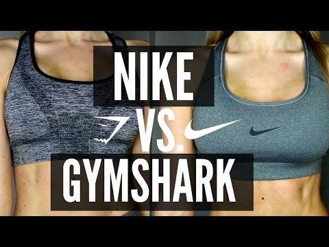 Nike vs. Gymshark Sports Bra | Try On & Review