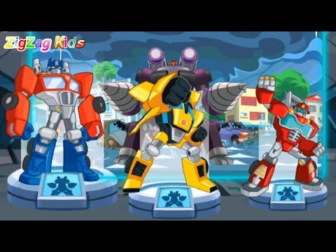 Transformers Rescue Bots Dash   Episode 2 Thunderstorm   Android Apps   ZigZag