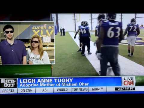 sean tuohy - In this interview with Michael Oher's adoptive Mom and brother Leigh Ann Tuohy and Sean Tuohy, Leigh Ann admits to being so superstitious about ruining Micha...
