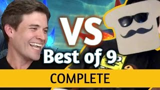 Video (Hearthstone) Kibler VS Disguised Toast: Un'Goro Best of 9 ALL GAMES MP3, 3GP, MP4, WEBM, AVI, FLV Juni 2018