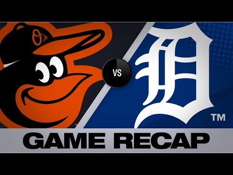 Mancini, Stewart power Orioles to 6-2 win | Orioles-Tigers Game Highlights 9/13/19