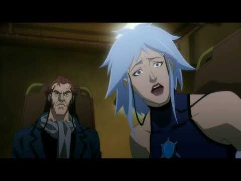 Death Of King Shark And Black Spider - Batman Assault On Arkham