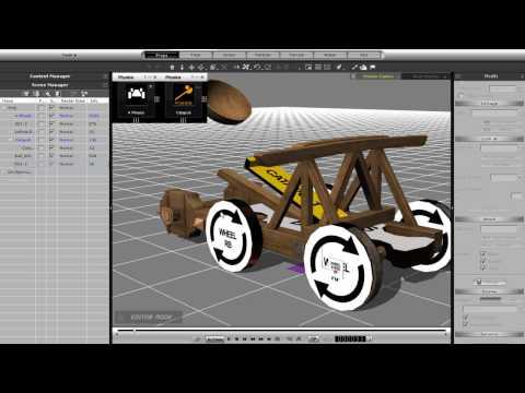 iClone5 Tutorial – Physics Toolbox L1 Springs