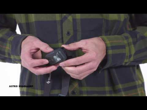 Vídeo - Lanterna de Cabeça Black Diamond Astro 150 lúmens