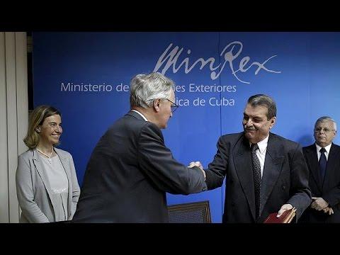 Κούβα – ΕΕ: Ενισχύονται οι διπλωματικές σχέσεις