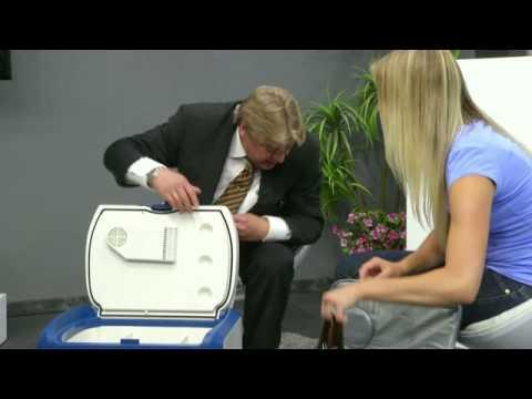 Xcase Thermoelektrische Kühltasche fürs Auto, 35 l