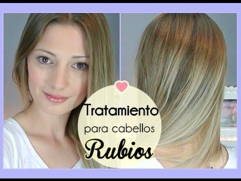 Para cabello rubio videos videos relacionados con para cabello rubio - Rubio platino en casa ...