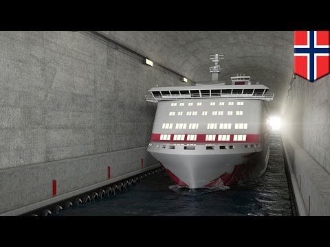 Norway Ship Tunnel: Norway To Spend $315m Building World's First Ship Tunnel - Tomonews
