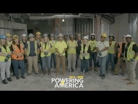 Women Answering the Call to Solve the Skilled Labor Shortage for the NECA/IBEW Powering America Team