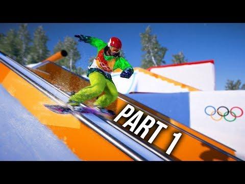 Steep Road to the Olympics Gameplay Walkthrough Part 1 - PyeongChang 2018 (Full Game) (видео)