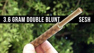 Smoking a 3.6g bottle rocket WOVEN BLUNT!!! Gelato, Lemon Diesel & Druekies!!! by HighRise TV