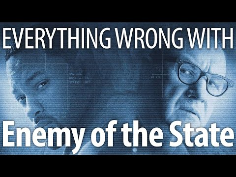 Everything Wrong With Enemy of the State In 20 Minutes Or Less