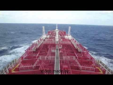 tanker - A quick view of the navigation bridge of the chemical tanker: Iver Expert. Video made early in the morning before arriving at Georgetown, Cayman Islands. Dim...