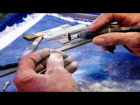 Stone Carving 101 - DIY hand carved stone jewelry charm using flex shaft
