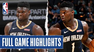 PELICANS at SPURS   FULL GAME HIGHLIGHTS   October 13, 2019