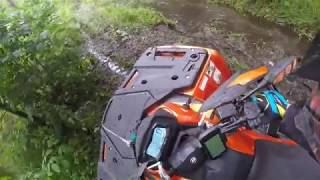 9. Second and mud TEST DRIVE  CFMOTO C1000 (X10 H.O.)
