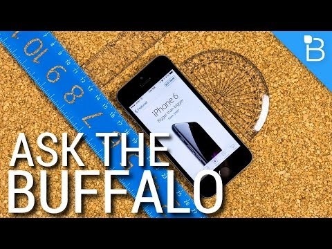 or - Ask the Buffalo: iPhone 6 or iPhone 6 Plus and Best Smartwatch Give Lynda a try for 7-days: http://www.lynda.com/technobuffalo Jon R is back to tackle more questions and queries from Buffalo...