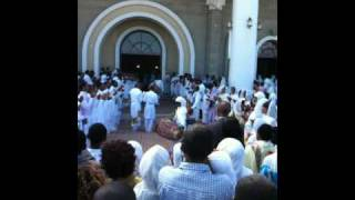 Ethiopia Addis End Of Orthadox Service Celebration We May Try This Sunday....Bole Temple