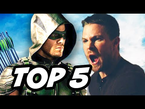 Arrow Season 4 Episode 4 - TOP 5 WTF and Easter Eggs