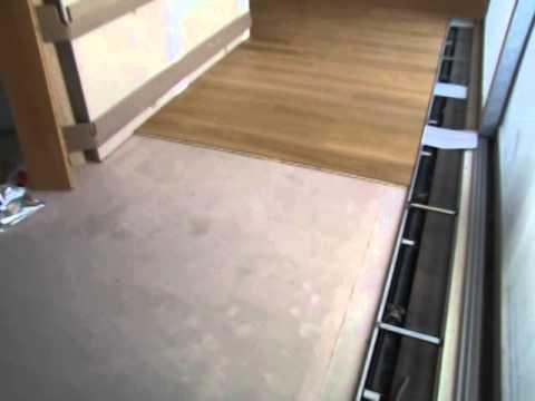 Pokládka plovoucí podlahy lepením - 1.díl