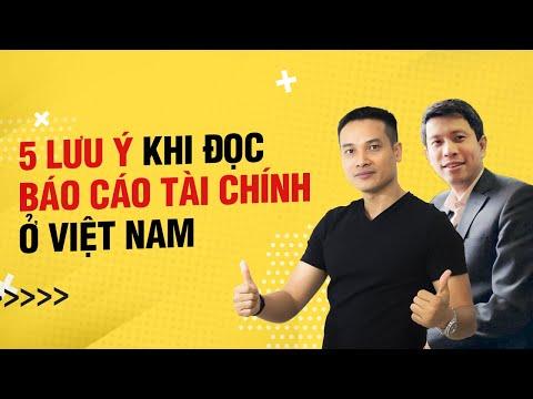 5 lưu ý khi đọc báo cáo tài chính tại Việt Nam