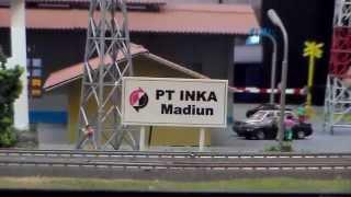 Miniatur Kereta Api Indonesia made in INKA Madiun