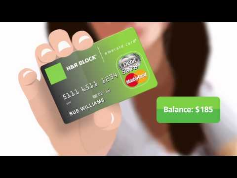 Video of Emerald Card - H&R Block