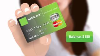 Emerald Card - H&R Block YouTube video