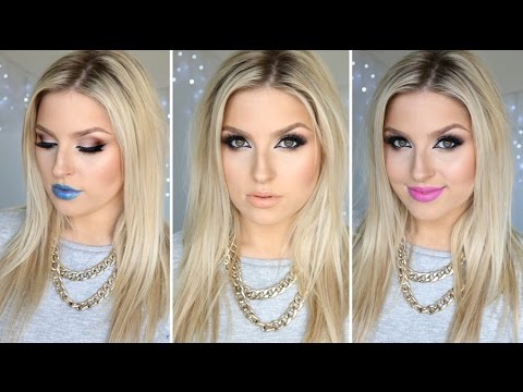 Sexy - Hey everyone! Here is my sexy cat eye look and 3 lip combinations! LipMonthly link: http://bit.ly/1ybnzbC and promo code: HALLOWEEN Did you see my most recent video? Clothing haul & try...